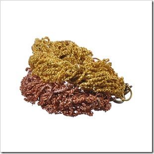 set-bratari-fir-metalic-bronz-cupru